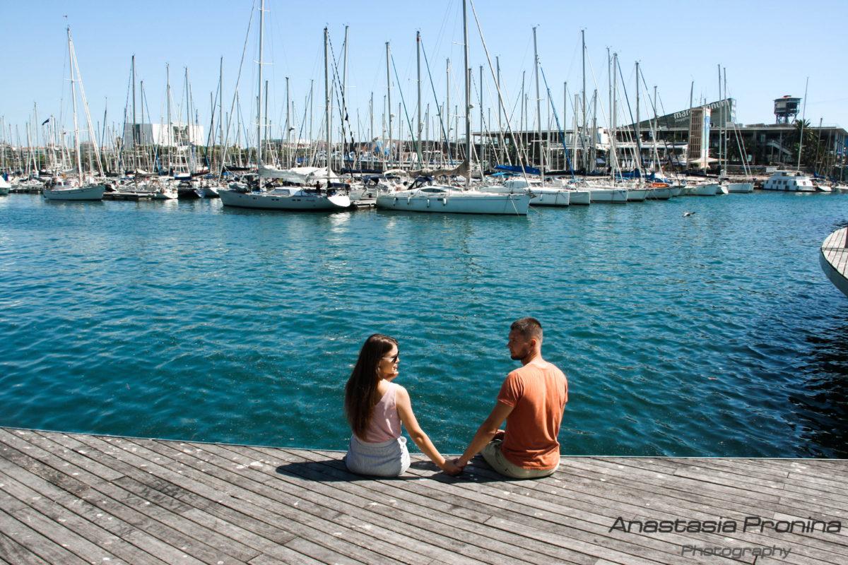 Красивые фото-прогулки в Барселоне для влюбленных