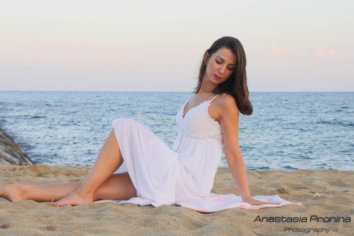 Sesión de Fotos en la Playa de Barcelona