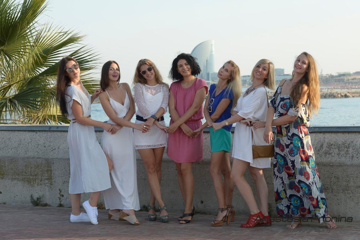 Веселые девичники в Барселоне