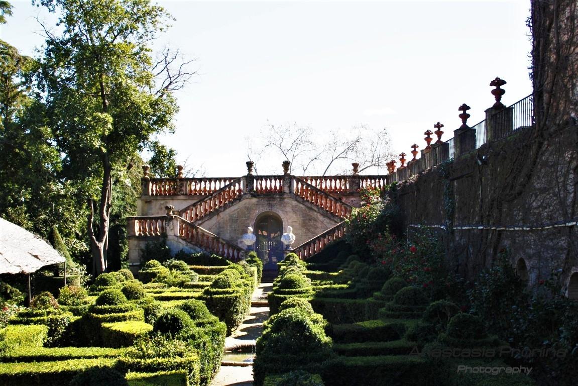 Парк Лабиринт, Барселона