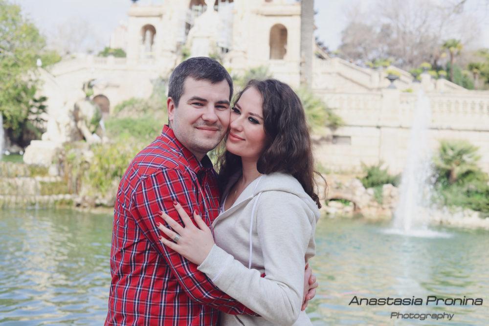 La sesión de fotos Love Story Barcelona