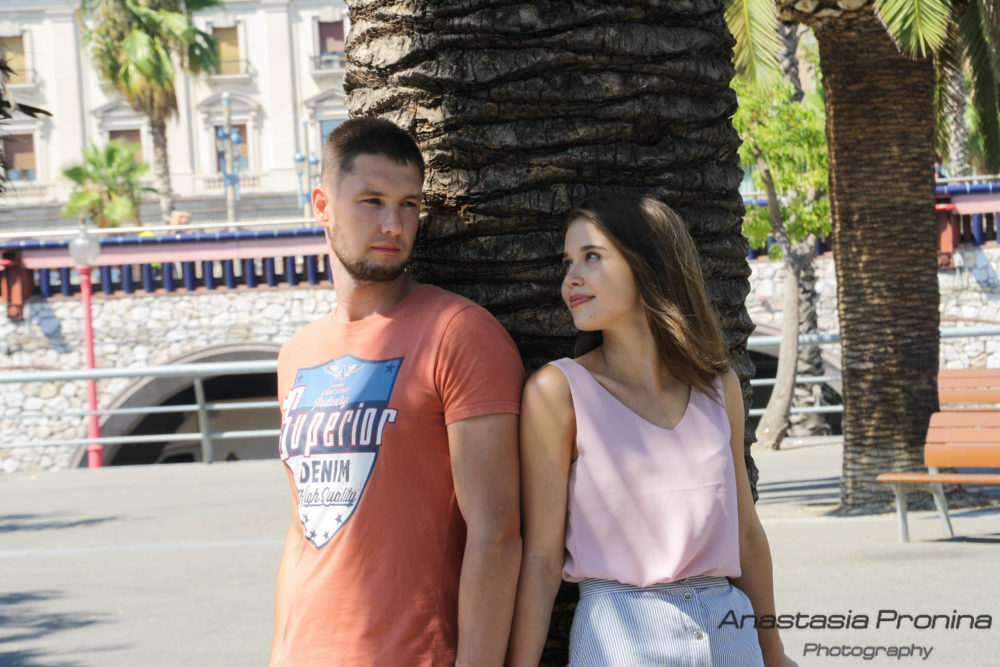 Романтические моменты для двоих. Барселона