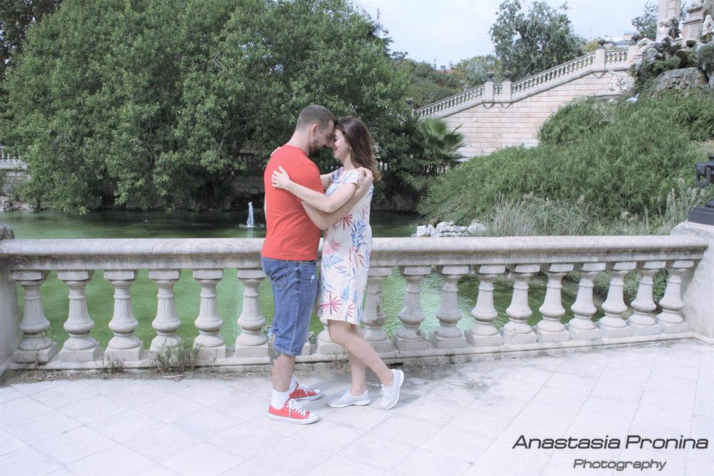 Love Story — фотосессия в Барселоне на природе и в городе