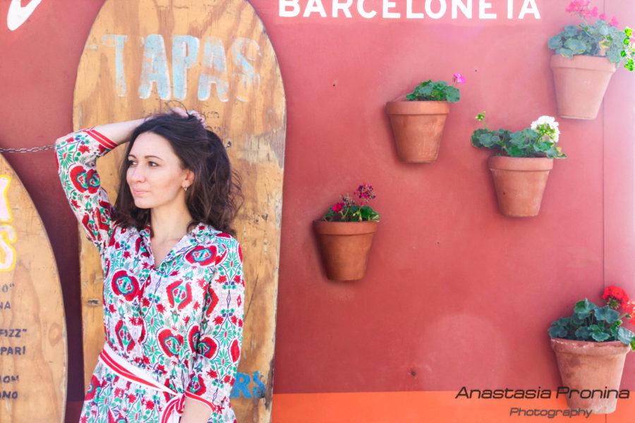 Индивидуальные портретные фотосессии в Барселоне