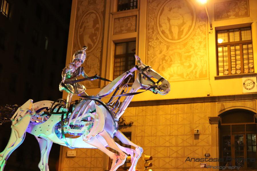 Сьемка Праздничного шоу в Барселоне